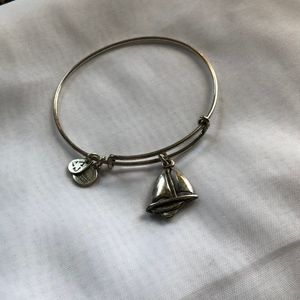 Alex and Ani Sail boat Bracelet